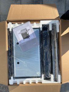 Detailansicht vom Karton des LIDL Tepro Gas-Grillwagen