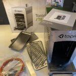 Tepro Toronto Oberhitzegrill auf dem Tisch ausgepackt