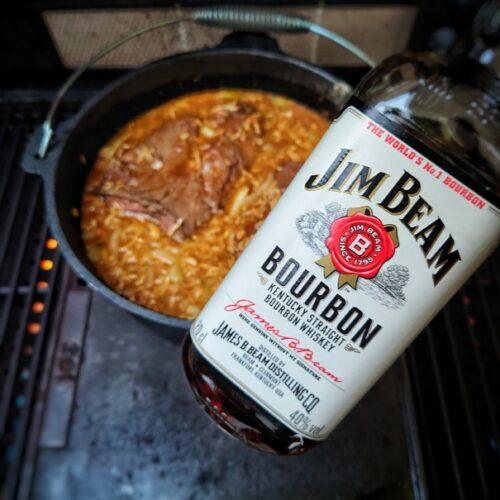 Hier bekommt ihr das Rezept für leckeres Colafleisch aus dem Dutch Oven