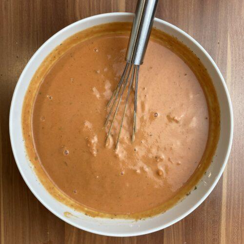 fertige Sauce für Hackbällchen