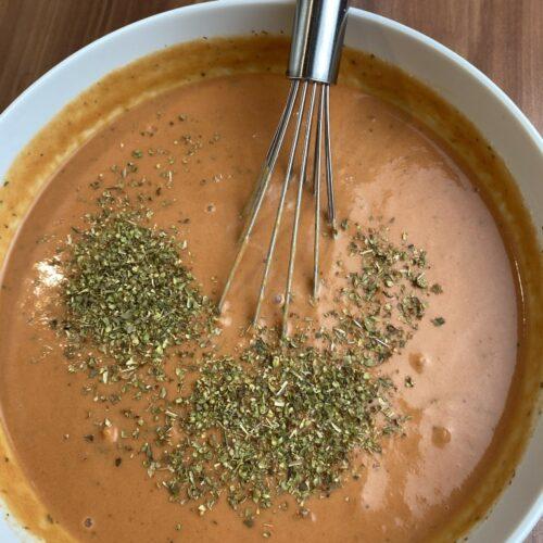 Sauce für Hackbällchen mit Oregano