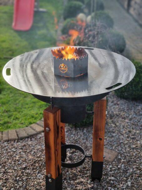 Anleitung zum Bau einer Feuerplatte für ca. 300€00€