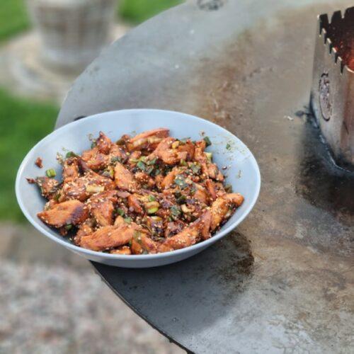Hier bekommt ihr das Rezept für eine scharfe mongolische Wokpfanne