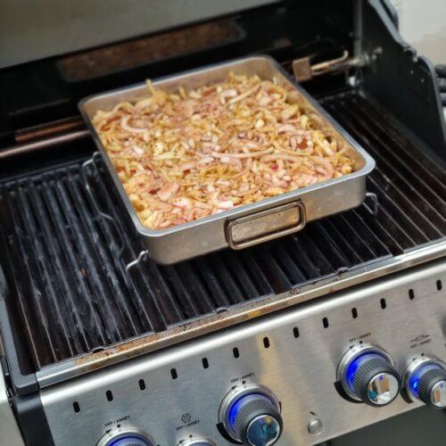 Hier bekommt ihr das Rezept für Zwiebelfleisch vom Grill. Genau so wie ihr es von der Kirmes kennt. ❤️